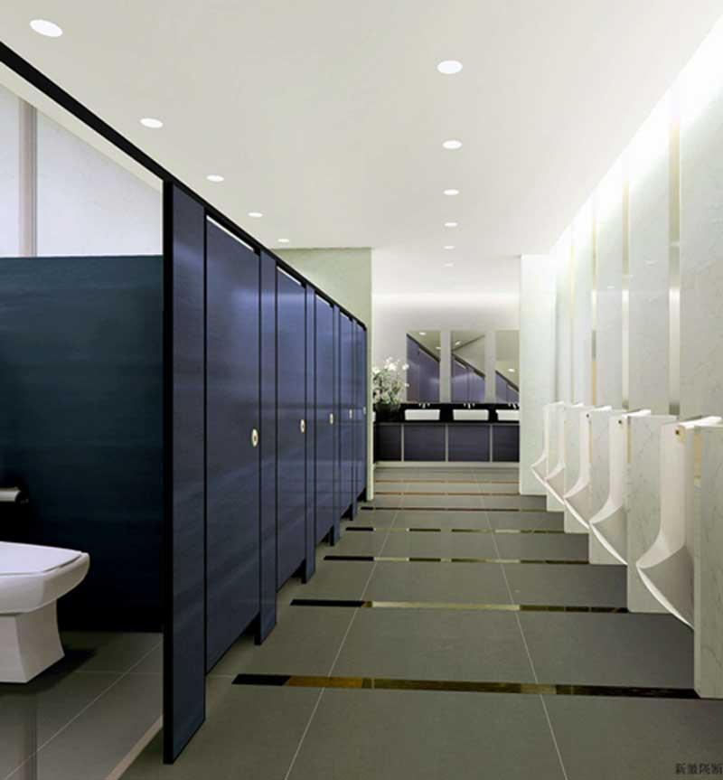 厕所与洗手间隔断装修效果图