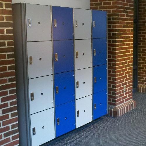 耐水健身中心储物柜