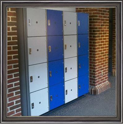 高级桑拿室储物柜