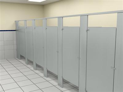 厂家提供写字楼洗手间隔断