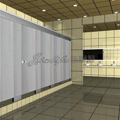 最大型商场厕所隔断