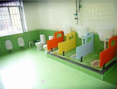 专家打造耐水幼儿园洗手间隔断