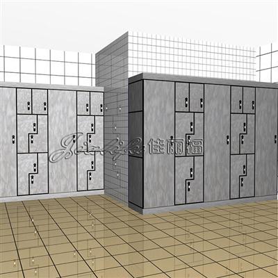 打造抗倍特板沐浴中心储物柜