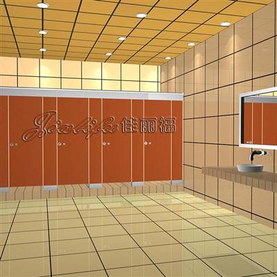 防潮防水体育中心洗手间隔断
