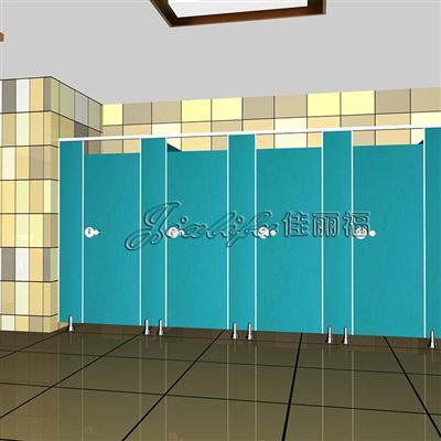 出口加固不易变形公共厕所隔断