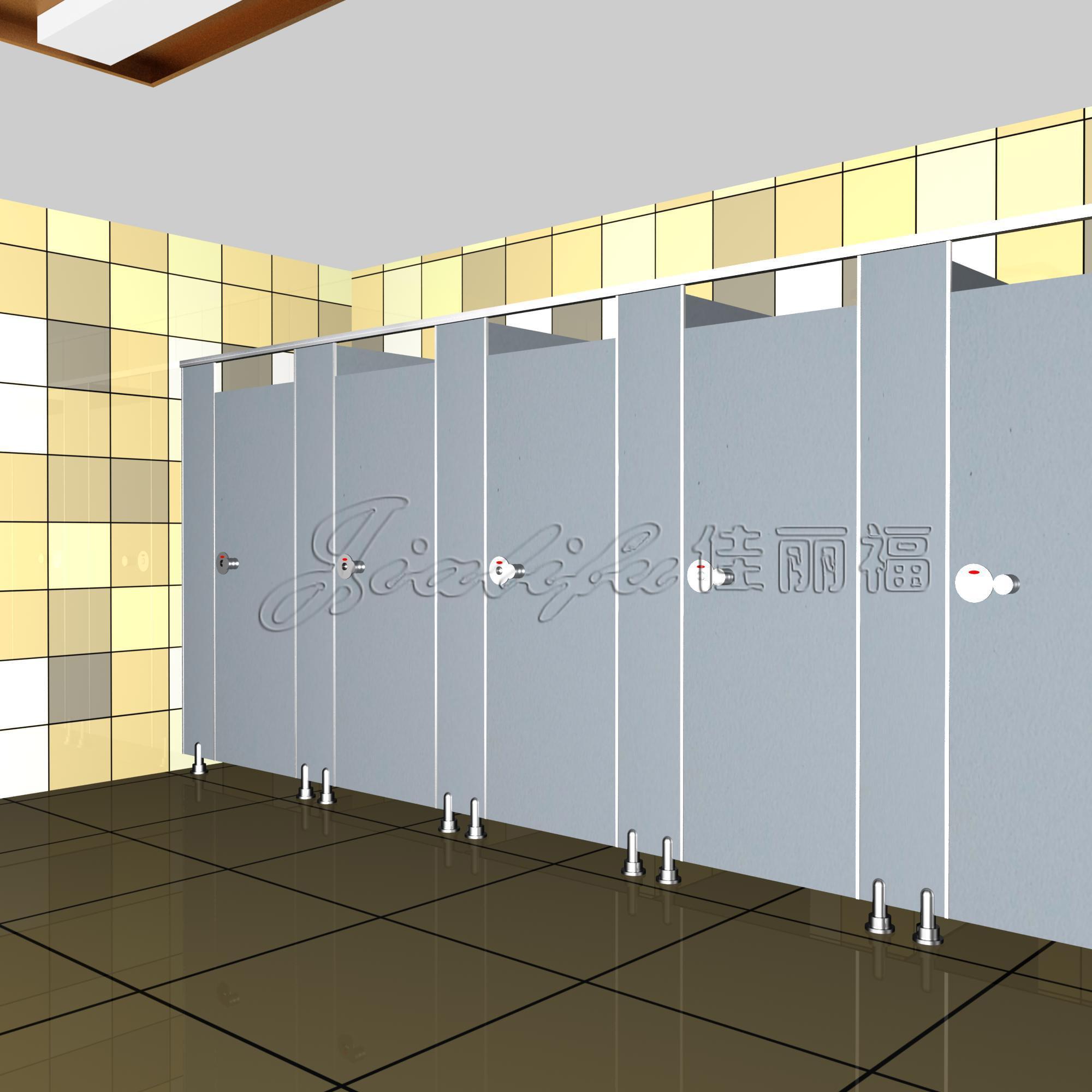 厂家打造写字楼洗手间隔断门订做