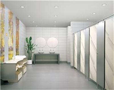生产与研发博物馆洗手间隔断