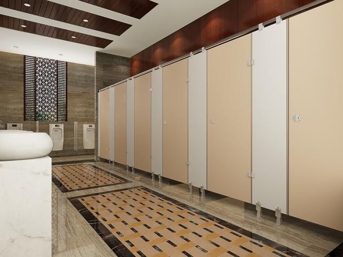 星级酒店卫生间隔断板