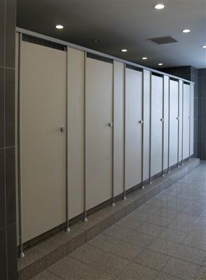 高密度写字楼洗手间隔断