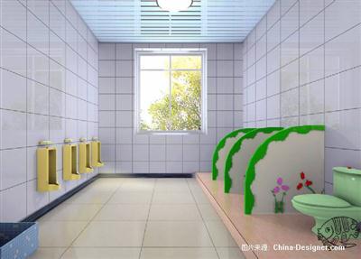 儿童卫生间隔断板