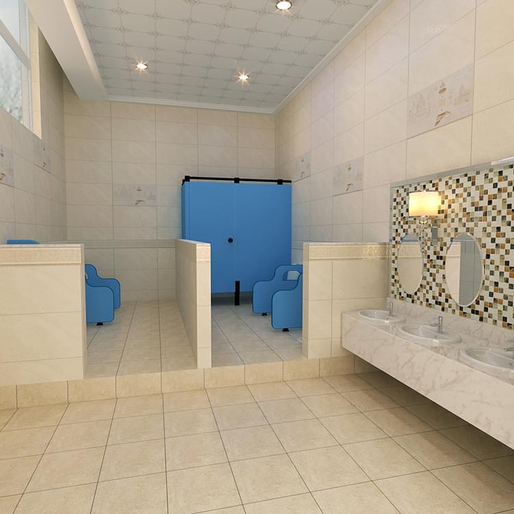 防潮防水会所洗手间隔断