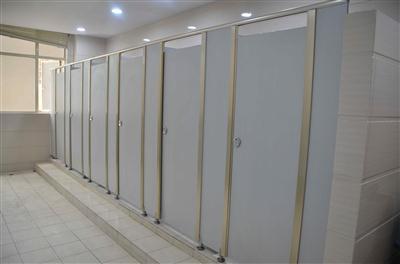 门饰边洗手间隔断