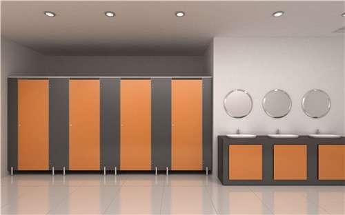 办公楼PVC厕所隔断